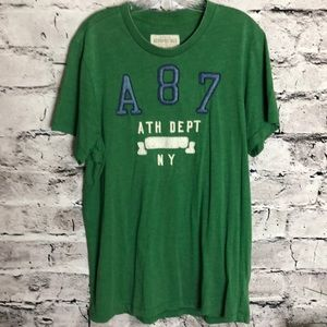 Aeropostale Mens T-shirt. Green. XL